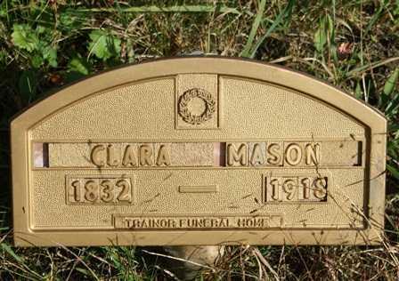 MASON, CLARA - Lewis County, New York | CLARA MASON - New York Gravestone Photos