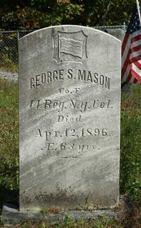 MASON (CW), GEORGE S - Lewis County, New York | GEORGE S MASON (CW) - New York Gravestone Photos
