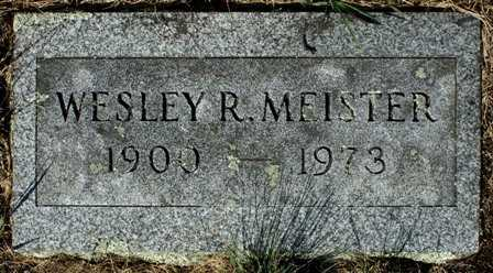 MEISTER, WESLEY R. - Lewis County, New York | WESLEY R. MEISTER - New York Gravestone Photos