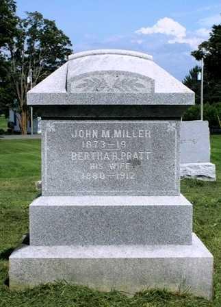 PRATT MILLER, BERTHA H. - Lewis County, New York | BERTHA H. PRATT MILLER - New York Gravestone Photos