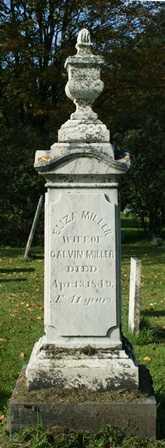 MILLER, ELIZA - Lewis County, New York | ELIZA MILLER - New York Gravestone Photos