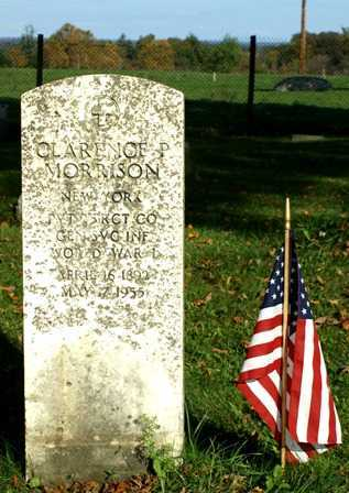 MORRISON (WWI), CLARENCE P - Lewis County, New York   CLARENCE P MORRISON (WWI) - New York Gravestone Photos