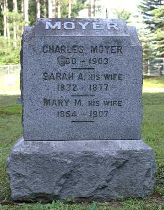 MOYER, MARY M. - Lewis County, New York | MARY M. MOYER - New York Gravestone Photos