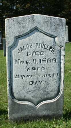 MULLER, JACOB - Lewis County, New York | JACOB MULLER - New York Gravestone Photos