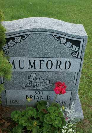 MUMFORD, BRIAN D. - Lewis County, New York | BRIAN D. MUMFORD - New York Gravestone Photos