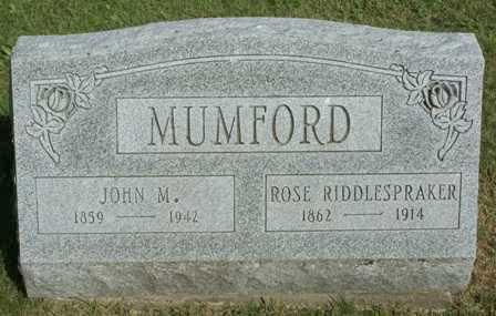MUMFORD, ROSE - Lewis County, New York   ROSE MUMFORD - New York Gravestone Photos