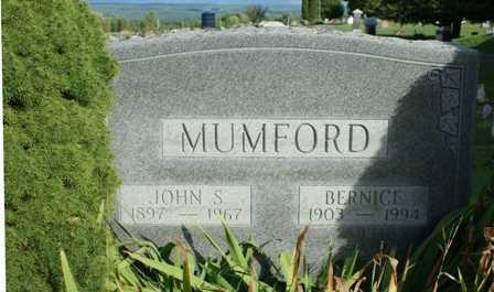 MUMFORD, BERNICE - Lewis County, New York | BERNICE MUMFORD - New York Gravestone Photos