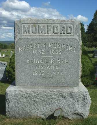 MUMFORD, ROBERT N. - Lewis County, New York | ROBERT N. MUMFORD - New York Gravestone Photos