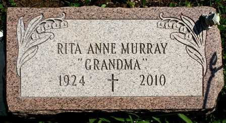 MURRAY, RITA ANNE - Lewis County, New York   RITA ANNE MURRAY - New York Gravestone Photos