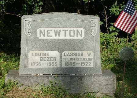 NEWTON, LOUISE - Lewis County, New York | LOUISE NEWTON - New York Gravestone Photos