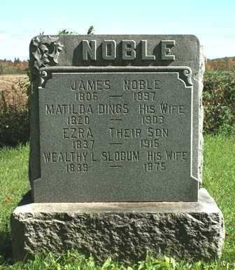 NOBLE, WEALTHY L. - Lewis County, New York | WEALTHY L. NOBLE - New York Gravestone Photos