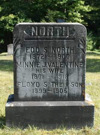 NORTH, MINNIE J. - Lewis County, New York   MINNIE J. NORTH - New York Gravestone Photos