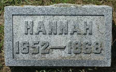 NYE, HANNAH - Lewis County, New York   HANNAH NYE - New York Gravestone Photos