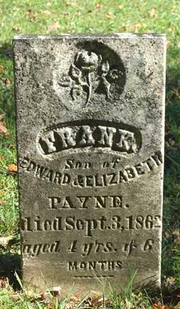 PAYNE, FRANK - Lewis County, New York | FRANK PAYNE - New York Gravestone Photos