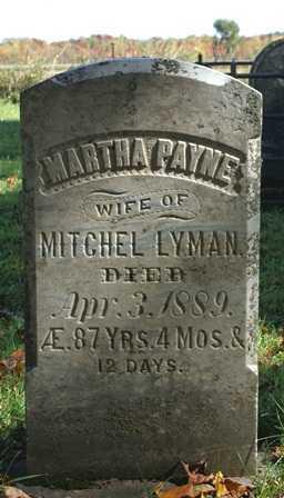 PAYNE, MARTHA - Lewis County, New York   MARTHA PAYNE - New York Gravestone Photos