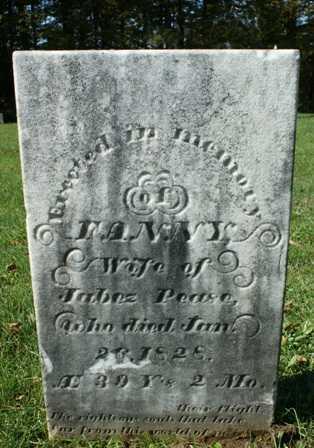 PEASE, FANNY - Lewis County, New York   FANNY PEASE - New York Gravestone Photos
