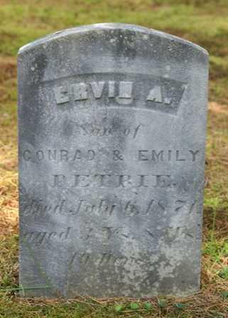 PETRIE, ERVIN A. - Lewis County, New York | ERVIN A. PETRIE - New York Gravestone Photos