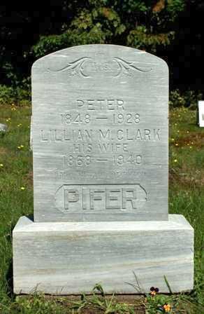 CLARK, LILLIAN M - Lewis County, New York | LILLIAN M CLARK - New York Gravestone Photos