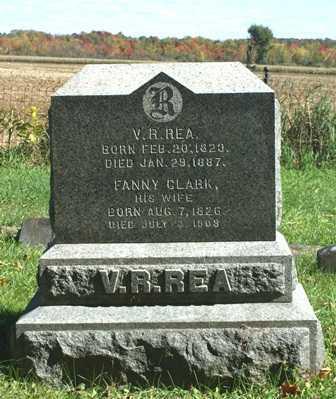 CLARK, FANNY - Lewis County, New York   FANNY CLARK - New York Gravestone Photos