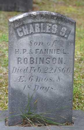 ROBINSON, CHARLES S. - Lewis County, New York   CHARLES S. ROBINSON - New York Gravestone Photos