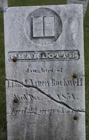 ROCKWELL, CHARLOTTE - Lewis County, New York | CHARLOTTE ROCKWELL - New York Gravestone Photos