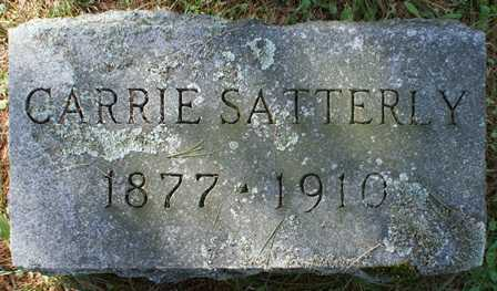 SATTERLY, CARRIE - Lewis County, New York | CARRIE SATTERLY - New York Gravestone Photos