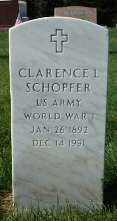 SCHOPFER, CLARENCE L. - Lewis County, New York | CLARENCE L. SCHOPFER - New York Gravestone Photos