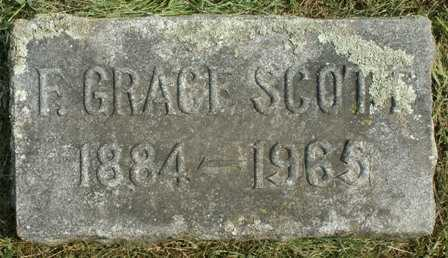 BURDICK, F. GRACE - Lewis County, New York | F. GRACE BURDICK - New York Gravestone Photos