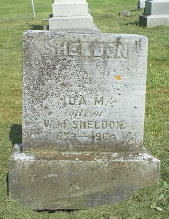 SHELDON, IDA M. - Lewis County, New York | IDA M. SHELDON - New York Gravestone Photos