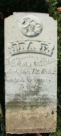 SHERMAN, IDA E. - Lewis County, New York   IDA E. SHERMAN - New York Gravestone Photos