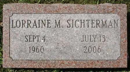 SICHTERMAN, LORRAINE M. - Lewis County, New York | LORRAINE M. SICHTERMAN - New York Gravestone Photos