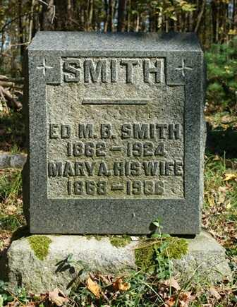 SMITH, ED M. B. - Lewis County, New York | ED M. B. SMITH - New York Gravestone Photos