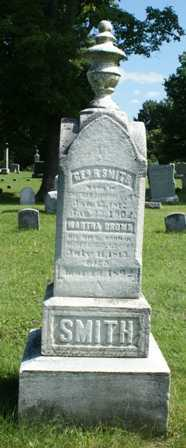 SMITH, MARTHA - Lewis County, New York | MARTHA SMITH - New York Gravestone Photos