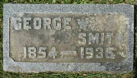 SMITH, GEORGE W. - Lewis County, New York | GEORGE W. SMITH - New York Gravestone Photos