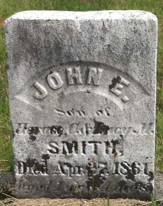 SMITH, JOHN E. - Lewis County, New York | JOHN E. SMITH - New York Gravestone Photos