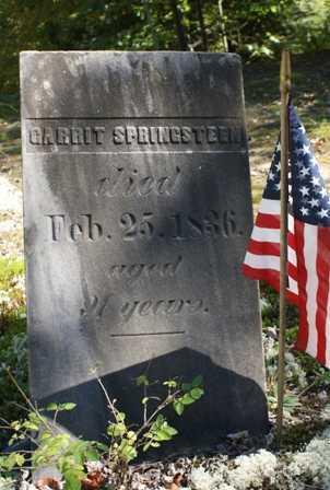 SPRINGSTEEN, GARRIT - Lewis County, New York | GARRIT SPRINGSTEEN - New York Gravestone Photos