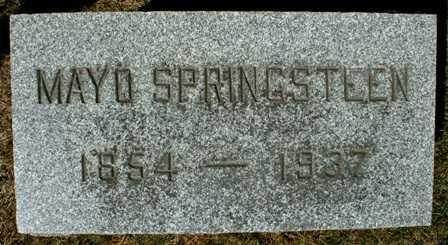 SPRINGSTEEN, MAYO - Lewis County, New York | MAYO SPRINGSTEEN - New York Gravestone Photos