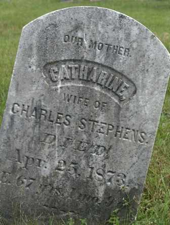 STEPHENS, CATHARINE - Lewis County, New York | CATHARINE STEPHENS - New York Gravestone Photos