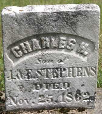 STEPHENS, CHARLES H. - Lewis County, New York | CHARLES H. STEPHENS - New York Gravestone Photos