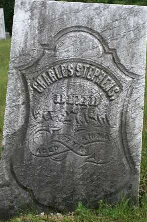 STEPHENS, CHARLES - Lewis County, New York | CHARLES STEPHENS - New York Gravestone Photos