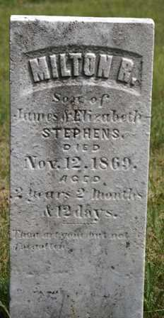 STEPHENS, MILTON R. - Lewis County, New York | MILTON R. STEPHENS - New York Gravestone Photos