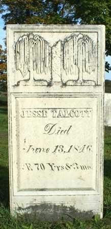 TALCOTT, JESSE - Lewis County, New York   JESSE TALCOTT - New York Gravestone Photos