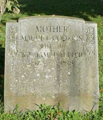 GOOKINS TELLER, MAUDE L. - Lewis County, New York | MAUDE L. GOOKINS TELLER - New York Gravestone Photos