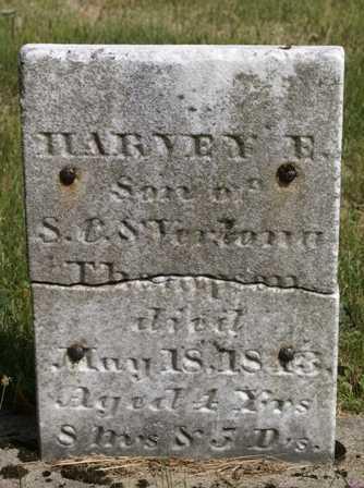 THOMPSON, HARVEY E. - Lewis County, New York   HARVEY E. THOMPSON - New York Gravestone Photos