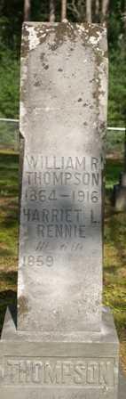 RENNIE THOMPSON, HARRIET L. - Lewis County, New York | HARRIET L. RENNIE THOMPSON - New York Gravestone Photos