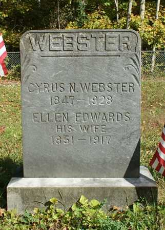 WEBSTER, CYRUS - Lewis County, New York | CYRUS WEBSTER - New York Gravestone Photos
