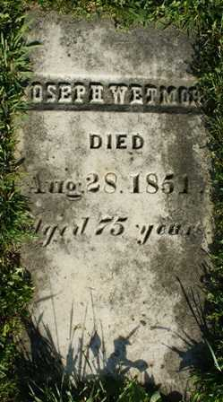 WETMORE, JOSEPH - Lewis County, New York | JOSEPH WETMORE - New York Gravestone Photos