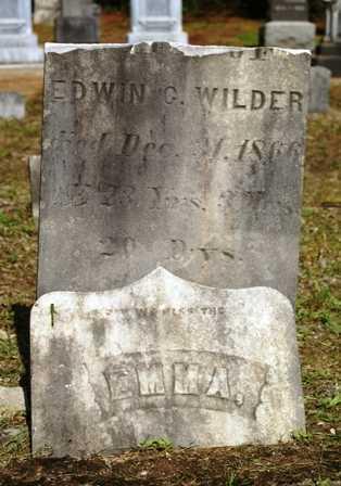 WILDER, EMMA - Lewis County, New York   EMMA WILDER - New York Gravestone Photos