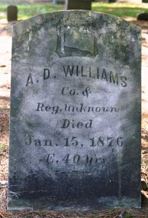 WILLIAMS (CW), A. D. - Lewis County, New York | A. D. WILLIAMS (CW) - New York Gravestone Photos