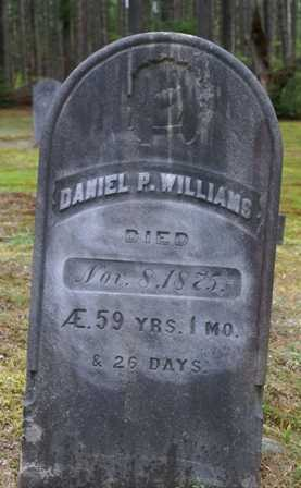 WILLIAMS, DANIEL P. - Lewis County, New York   DANIEL P. WILLIAMS - New York Gravestone Photos